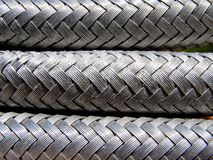 Wire braided hose Stock Photography