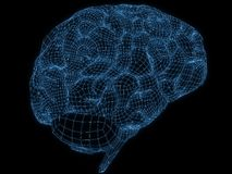 Wire brain Stock Photography