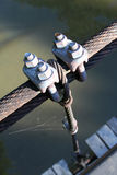 Wire bridges Royalty Free Stock Photos