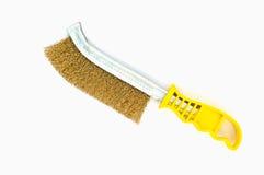 Wire brush tool Stock Photo