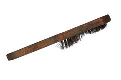 Wire brush tool  on white background, Special tools in heavy industry Stock Images