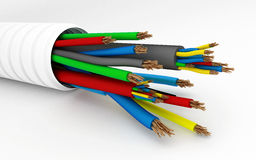 Wire, cable Stock Photo