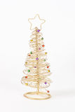 Wire Christmas Tree Royalty Free Stock Photos
