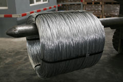 Wire coils Stock Photography