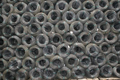 Wire coils Stock Image