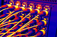 Wire Connections Stock Images