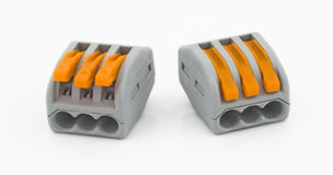 Wire connector Stock Images