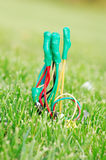 Wire connects Royalty Free Stock Image