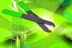 Free Wire Cutter Royalty Free Stock Photo - 15179135