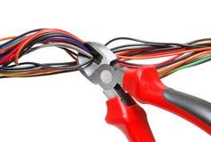 Wire-cutter Fotografia de Stock Royalty Free