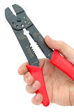 Wire cutter-stripper Royalty Free Stock Images