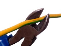 Wire cutters Stock Image
