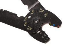 A wire cutters Royalty Free Stock Photos