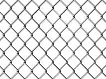 Wire fence. Chainlink silver wire fence illustration royalty free illustration