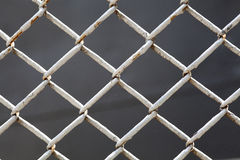 Wire fence close up. Background vector illustration