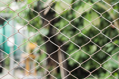 Wire fence. Stock Images