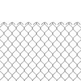 Wire fence 3D Royalty Free Stock Photography