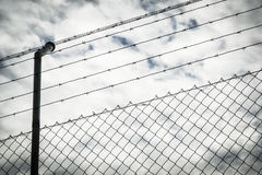 Wire fence Stock Photography