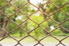 Wire fence Stock Images