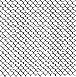 Wire fence mesh pattern, freehand drawn image, digitally remastered black and white texture royalty free illustration