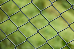 The wire fence. On the mountain road Stock Images