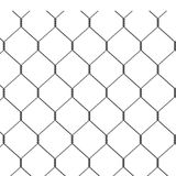 Wire fence - seamless image Royalty Free Stock Photography
