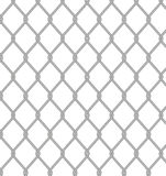 Wire fence. Vector. Royalty Free Stock Photo