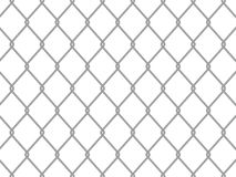 Wire fence. Vector mashed metallic wire fence stock illustration
