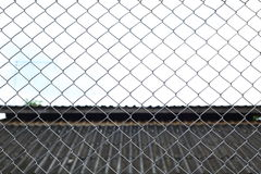 Wire fences Stock Photos