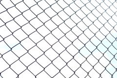 Wire fences Royalty Free Stock Image