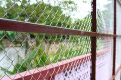 Wire fences Royalty Free Stock Photo