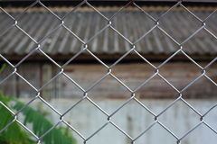 Wire fences Royalty Free Stock Images