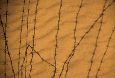 Wire fencing Stock Photo