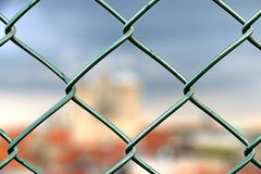 Wire Fencing, Structure, Chain Link Fencing, Wire royalty free stock images