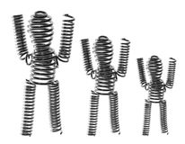 Wire Figures Royalty Free Stock Photo