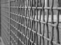 Wire grate fence Royalty Free Stock Images