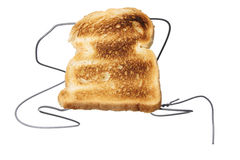 Wire Hanger Toaster Royalty Free Stock Photo