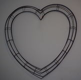 Wire Heart Royalty Free Stock Images