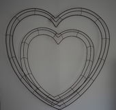Wire Heart Royalty Free Stock Photos