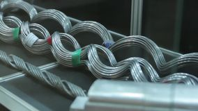 The Wire High Voltage. The electrical wire high voltage stock video