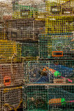 Wire Lobster Traps Stock Photography