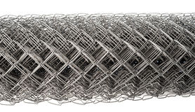 Wire mesh. A wire mesh Rabitz, rolled, closeup shot Royalty Free Stock Images