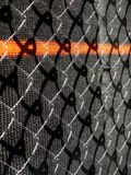 Wire and mesh construction fence. Stock Images