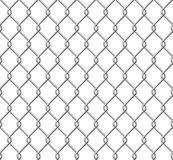 Wire mesh fence Stock Images