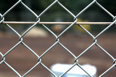 Wire Mesh Fence Royalty Free Stock Image