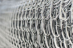 Wire mesh fence in roll Stock Photography