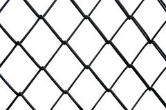 Wire mesh material made of a network of wire or thread. Stock Images
