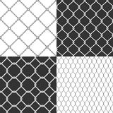 Wire mesh. Seamless vector pattern. Stock Illustration