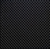 Wire mesh texture on black background Royalty Free Stock Photo