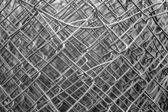 Wire mesh thicket Stock Photos